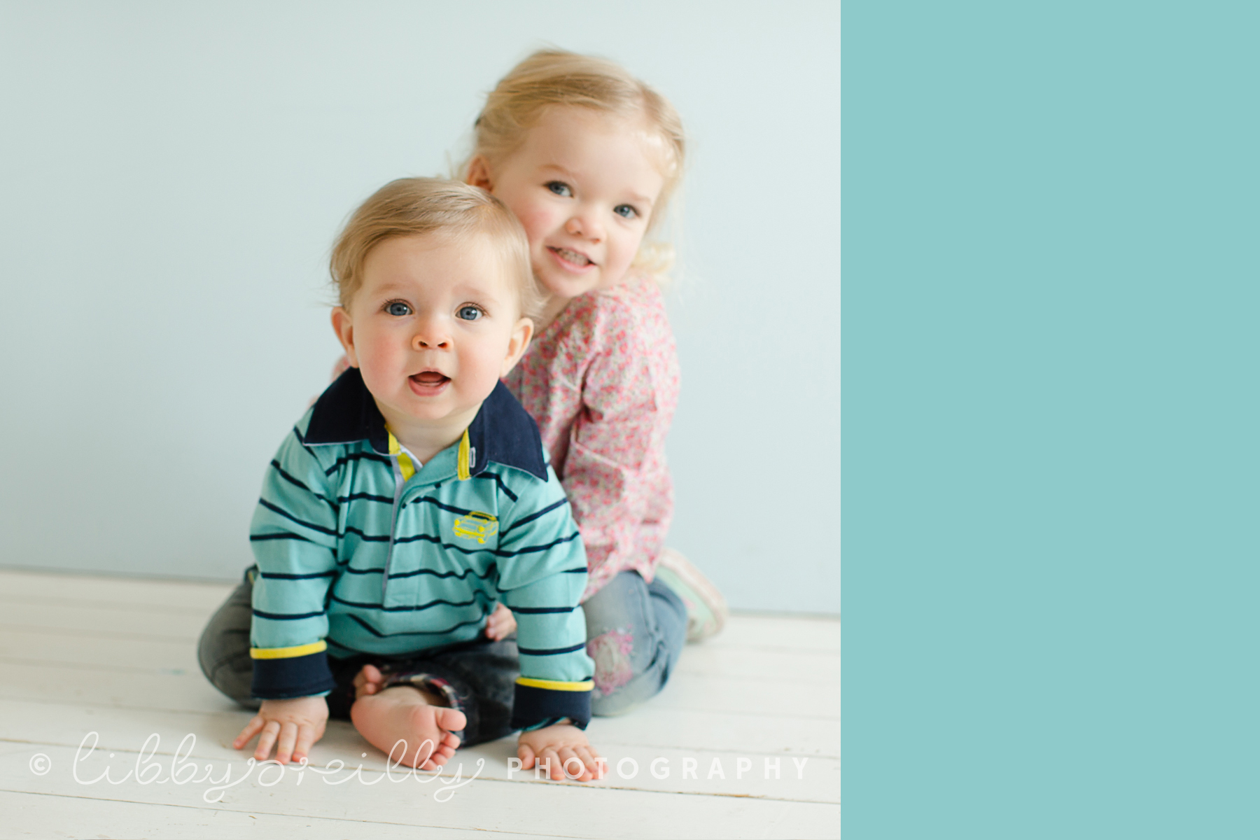 Baby C and Big Sister A | Family Portraits Dublin