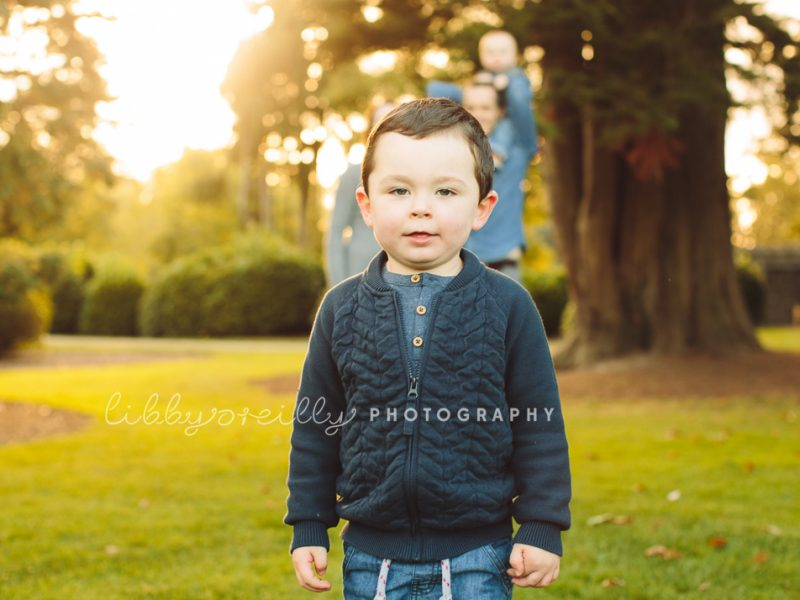 Evening in the Park | Family Photoshoot