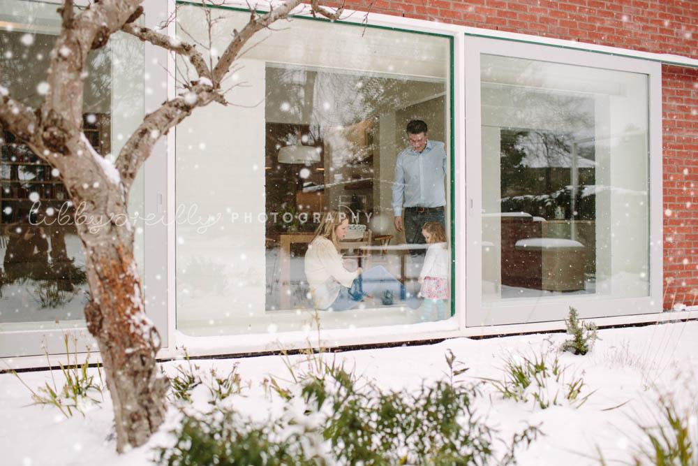 Winter Family & Newborn Lifestyle Photoshoot, Dublin Ireland