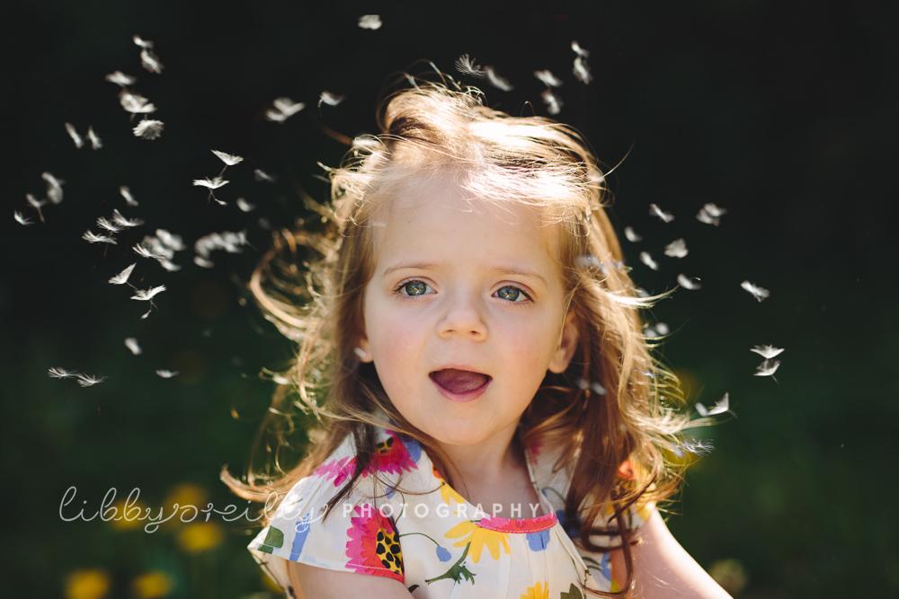 Dandelion Magic | Child Photographer Dublin