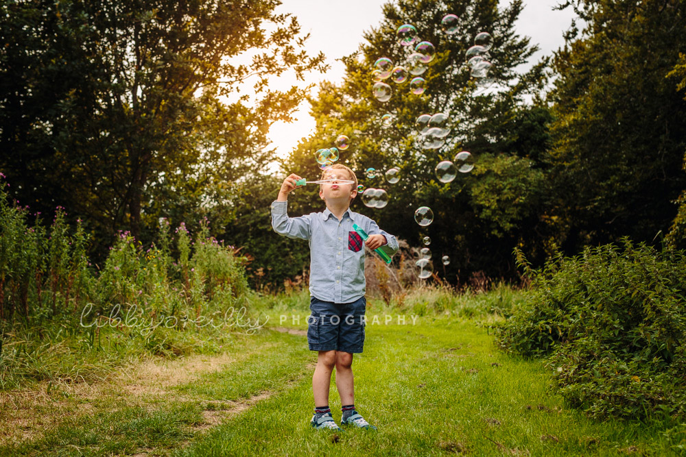 Summer Evening Magic | Family Photography, Dublin