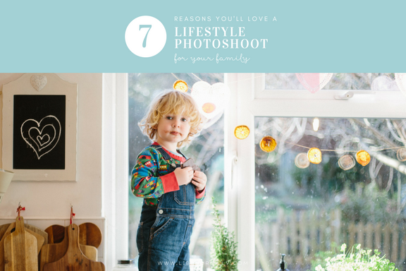 Seven Reasons You'll Love a Lifestyle Photoshoot