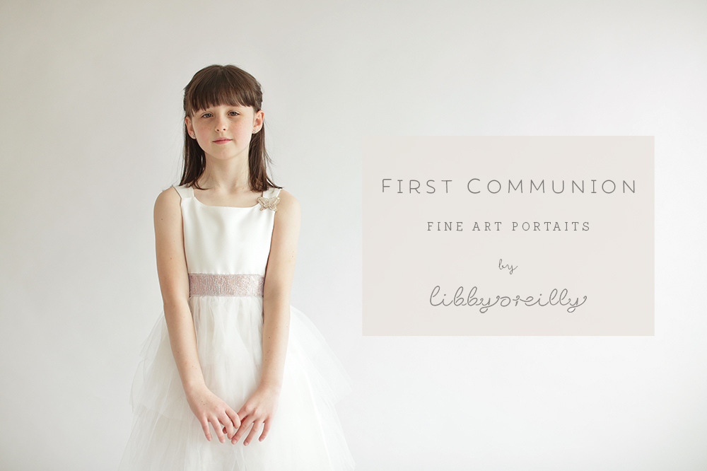 First Communion Portraits 2018