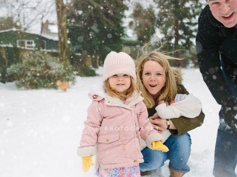 Winter Wonderland | Newborn & Family Lifestyle Photography, Dublin