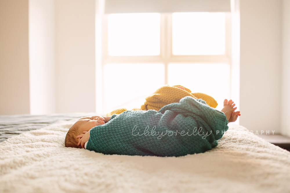 Two Little Bundles | Newborn Twin Photoshoot
