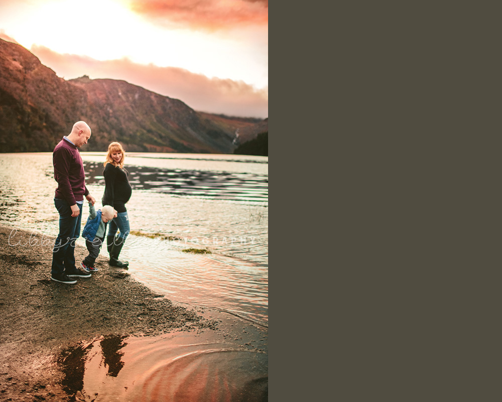 Sunset Family Photoshoot Ireland LibbyOReilly